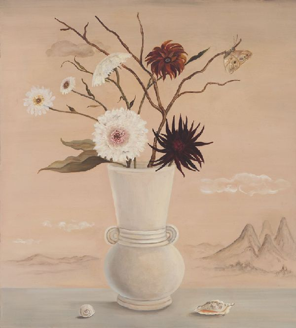 Still Life with Barren Landscape by Jane Smaldone